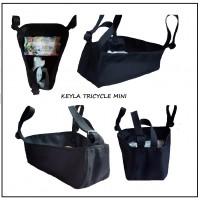 Универсален багажник за детска количка тип триколка KEYLA TRICYCLE MINI