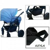 Универсален багажник за детска количка - Модел KEYLA Medium 2020 Premium