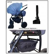 Универсален багажник за детска количка - Модел KEYLA Medium Premium 2020 PLUS  с капак