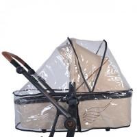 Универсален дъждобран за зимен кош на бебешка количка.