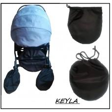 Комплект от два броя калъф за гуми на детска количка  ЦЯЛ KEYLA