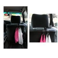 Двойна закачалка за седалка на кола