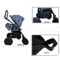 Универсален багажник за детска количка - Модел KEYLA Maxi PREMIUM 2020