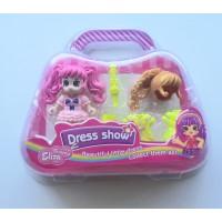 Мини кукла със сменящи се дрехи и прическа