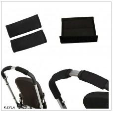 Комплект от две части калъф за дръжка на детска количка - неопрен KEYLA MАXI