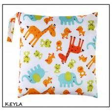 Непромокаема торба за пелени/памперси Жирафи