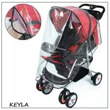 Дъждобран за детска количка  Дишащ