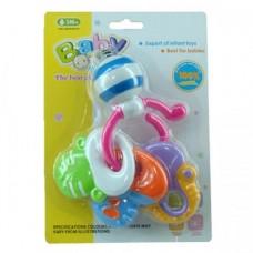 Бебешка дрънкалка Crazy Rattle - WD3310B