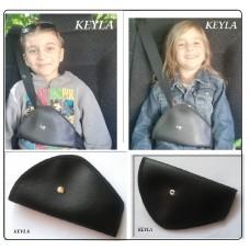 Предпазител за колан за кола KEYLA -  еко кожа