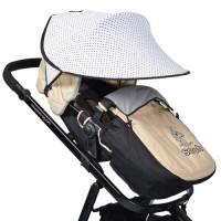 Сенник за детска количка Cangaroo white