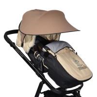 Сенник за детска количка Cangaroo brown