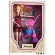 кукла с количка