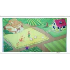 """Килим за под """"Моята ферма """""""